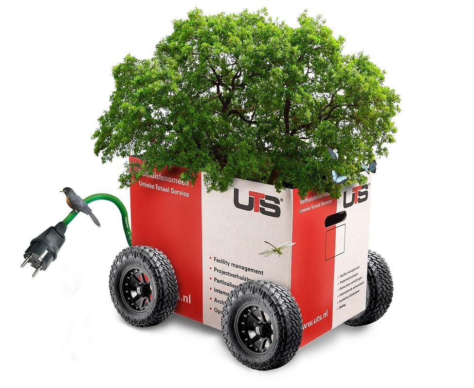 Groene UTS verhuisdoos - nieuws en milieu