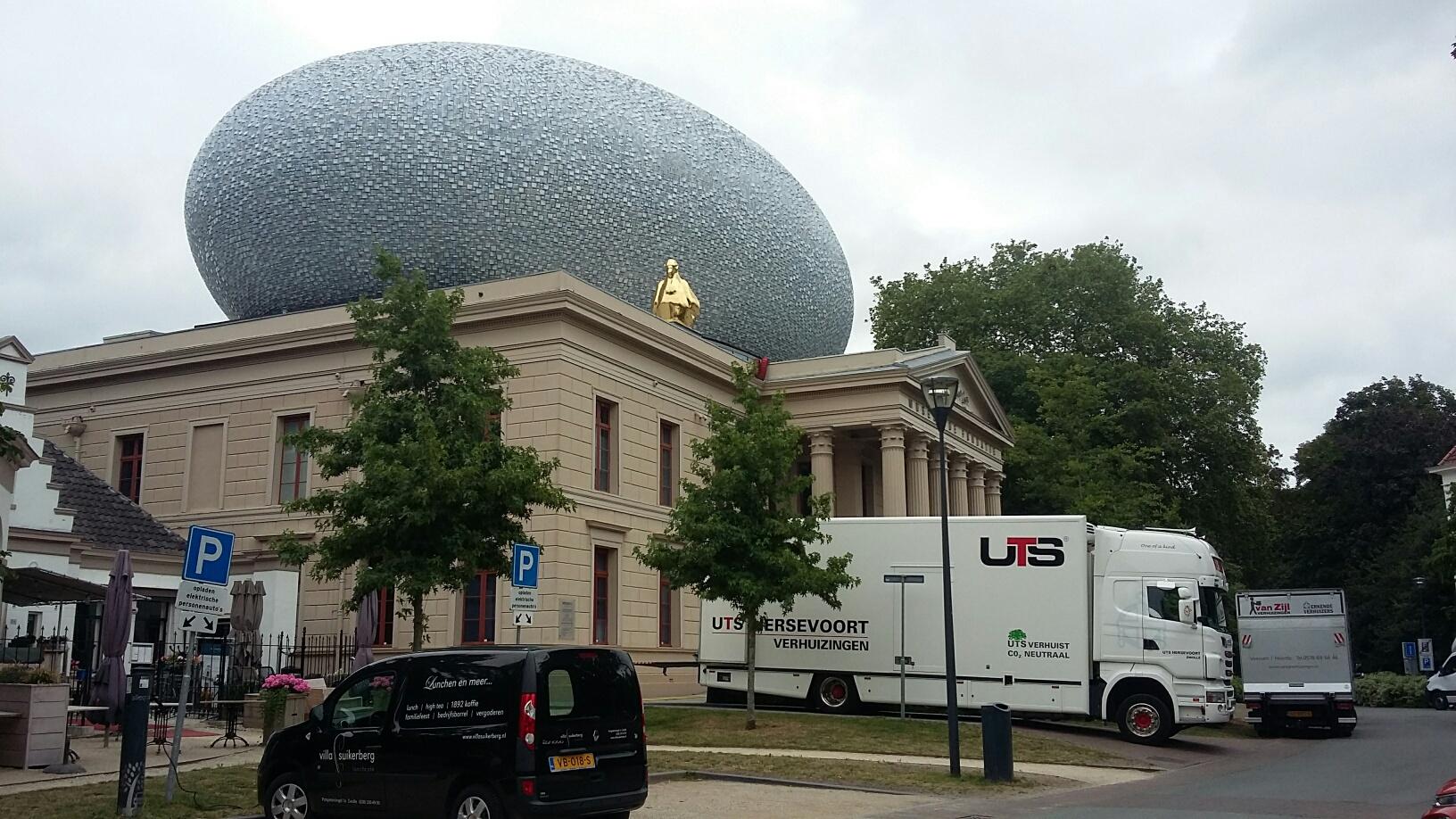 UTS - kunst verhuizen - Cibap