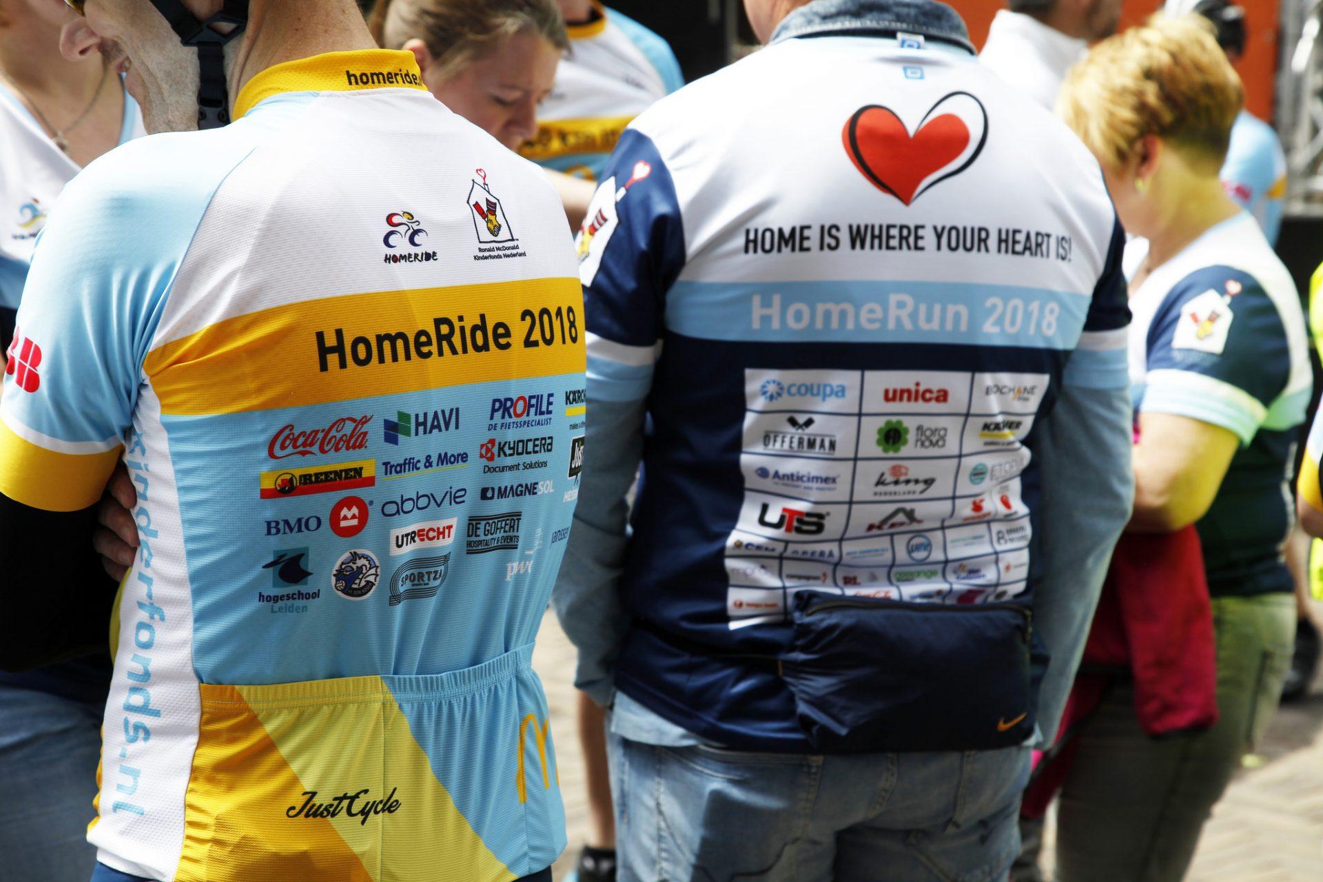 UTS Verkroost - ISS Homerun sponsoring shirts